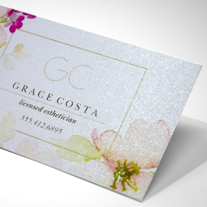 Pearl oss Business Cards 16pt