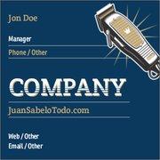 Square Standard Business Card 14pt