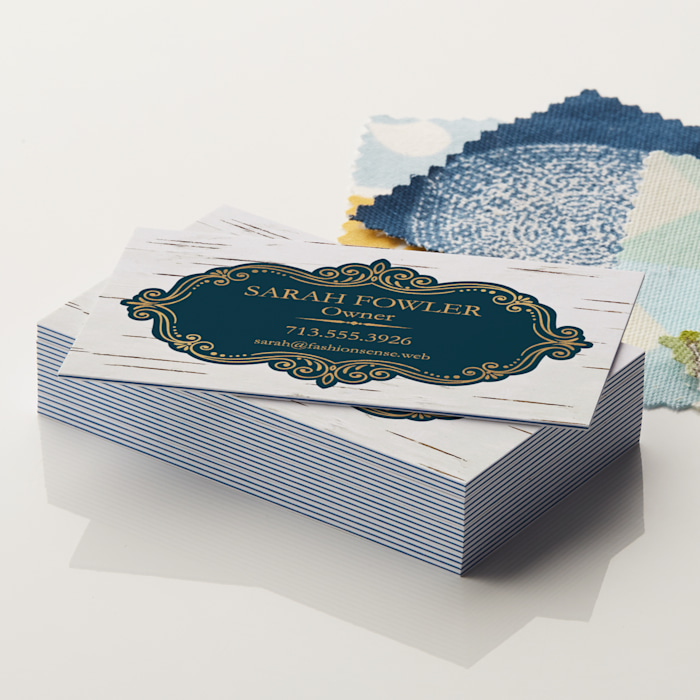 Triple Color Layer Business Cards