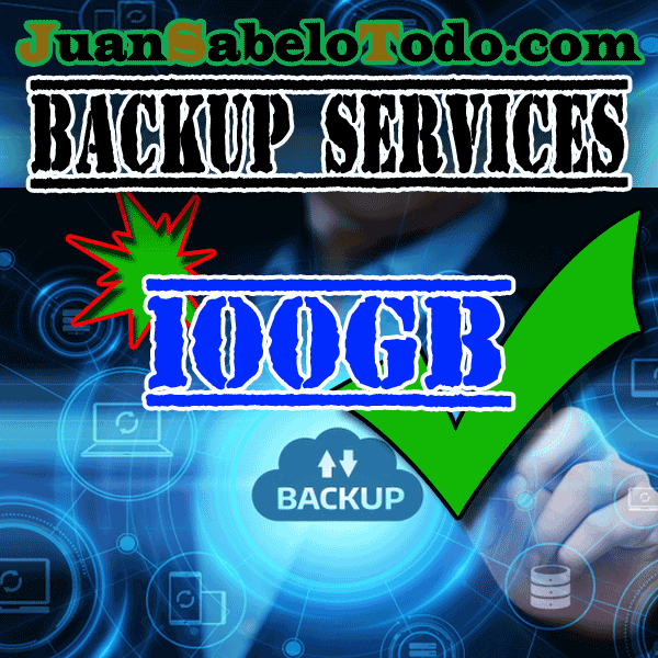 Daily backup 100GB Monthly subscription
