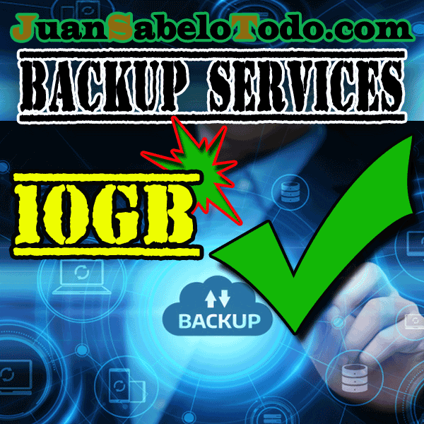 Weekly backup 10GB Monthly subscription