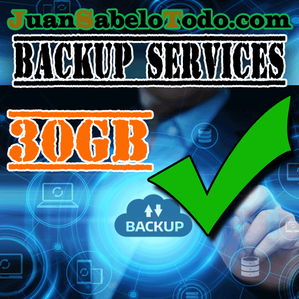 Daily backup 30GB Monthly subscription