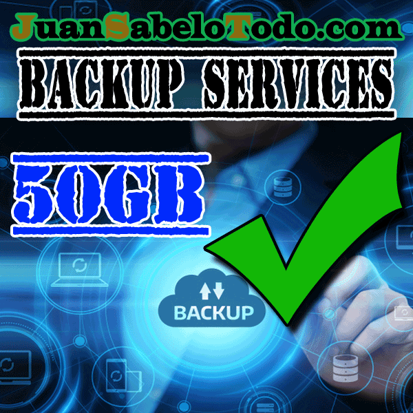 Daily backup 50GB Monthly subscription