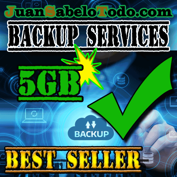 Weekly backup 5GB Monthly subscription