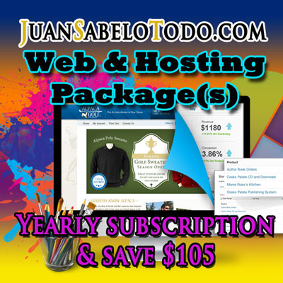 Basic Web Site Yearly Subscription