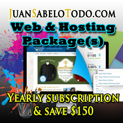 Standard Web Site Yearly Subscription $500
