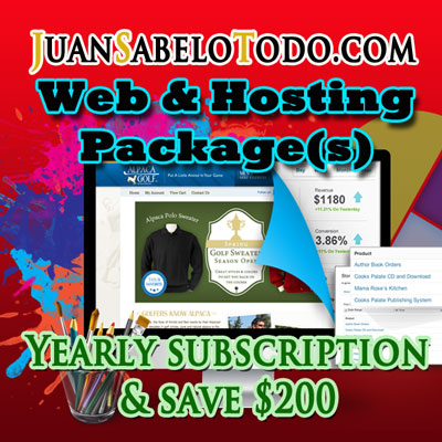 Premium Web Site Yearly Subscription $700